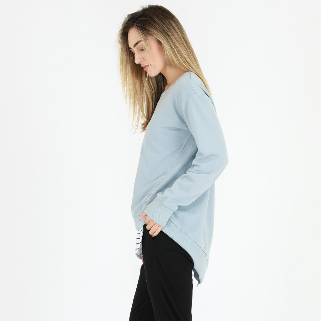 3rd Story Newhaven Sweater - Storm Blue-Tops-XS-My_Sister_Elle