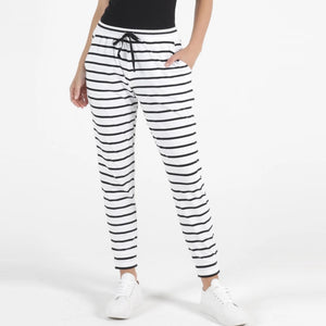 Betty Basics Heidi Pants - Stripe-Bottoms-6-My_Sister_Elle