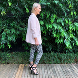 Slideshow Structured Blazer - Blush