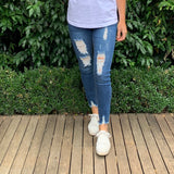 Wakee Denim Mandy High Waist Jeans