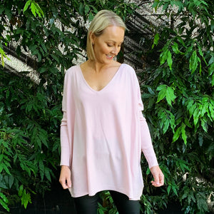 Slideshow Hattie Knit - Blush