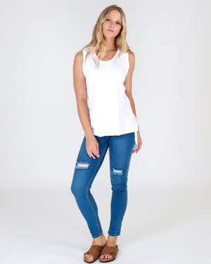 3rd Story Madison Tank - White-Tops-XS-My_Sister_Elle