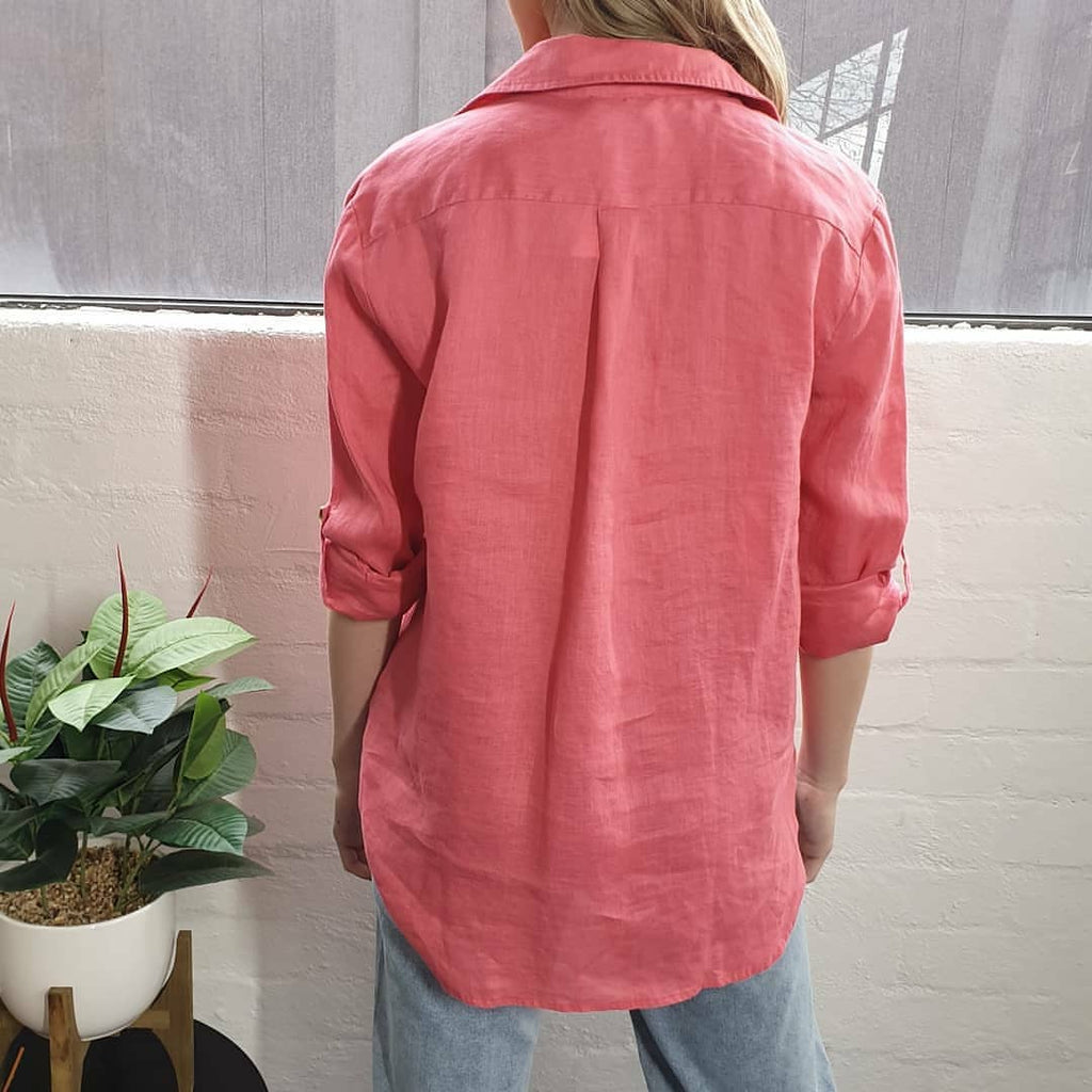 Renee Rose Linen Shirt-Tops-8-My_Sister_Elle