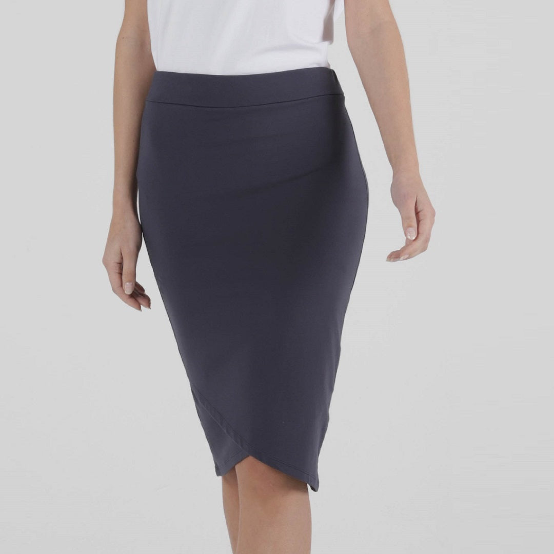 Betty Basics Siri Skirt Blue Stone from My Sister Elle Clothing