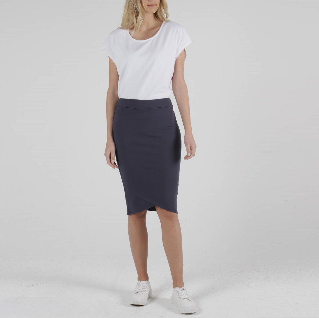 Betty Basics Siri Skirt - Blue Stone