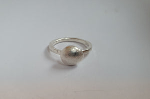 Perle ring, sølv // Pearl series, Ring