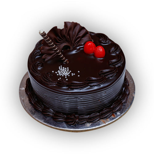 Belgian Dark Chocolate Cake - GharSe home cooked food