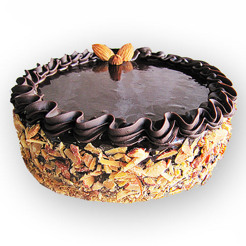Choco Almond Cake - GharSe home cooked food