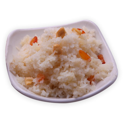 Coconut Rice (Sweet) - GharSe home cooked food