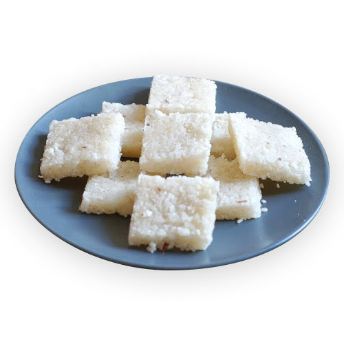 Coconut Barfi - GharSe home cooked food