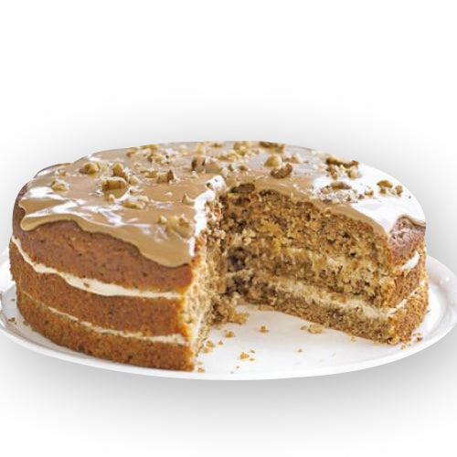 Coffee Walnut Cake - GharSe home cooked food