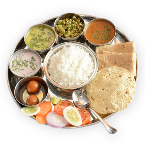 Delux Veg Thali - GharSe home cooked food