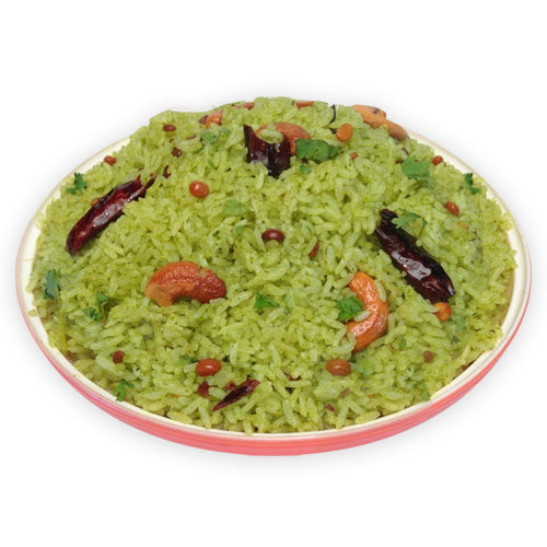 Jeera Garlic Coriander Rice - GharSe home cooked food