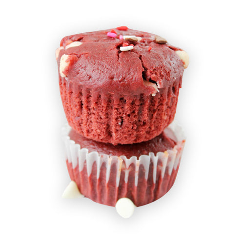 Red Velvet And Chocochip Muffins - GharSe home cooked food