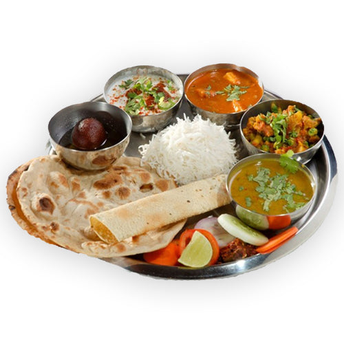 Veg Punjabi Thali - GharSe home cooked food