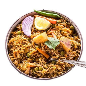 Hyderabadi Veg Biryani - GharSe home cooked food