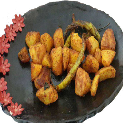 Sindhi Fried Aloo