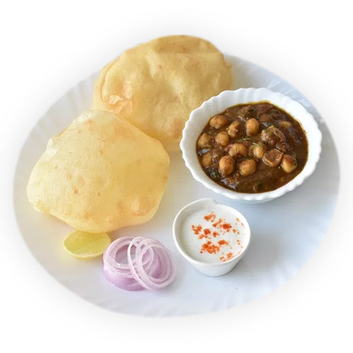 Punjabi Chole Bhature - GharSe home cooked food