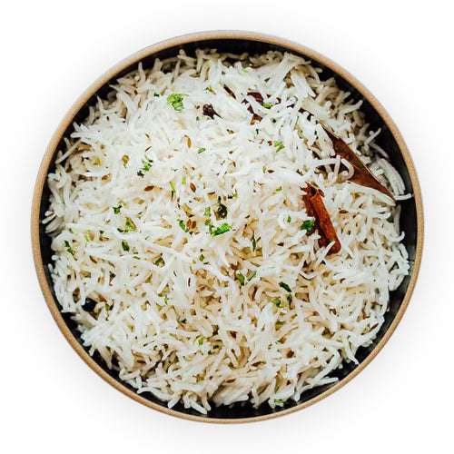 Jeera Garlic Rice - GharSe home cooked food