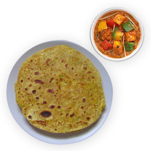 Paneer And Paratha - GharSe home cooked food