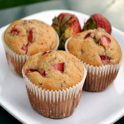 Strawberry Muffins - GharSe home cooked food