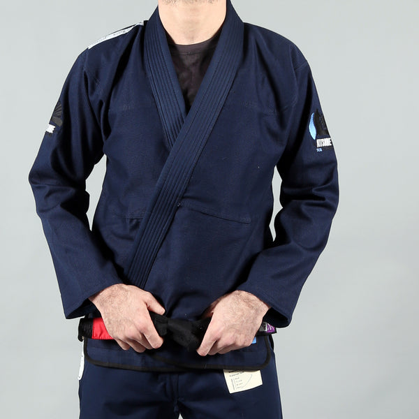 """Views"" Navy Blue BJJ Gi - Men's"