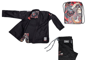 """Heroes"" Black BJJ Gi - Men's"