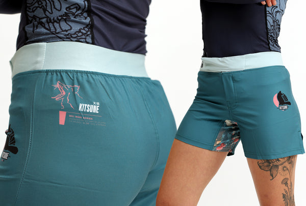 """MK1"" Performance Grappling Shorts - Women's"