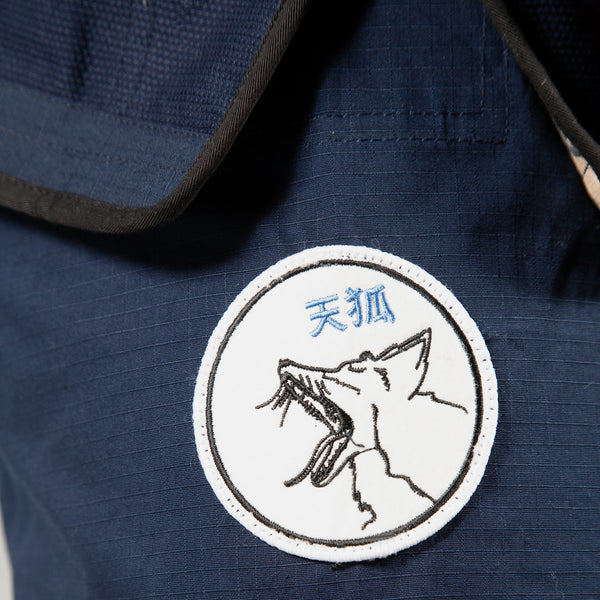 """Views"" Navy Blue BJJ Gi - Women's"