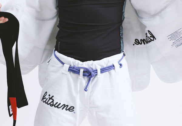 """Cursive""  Heavier Weight BJJ Gi - Women's"