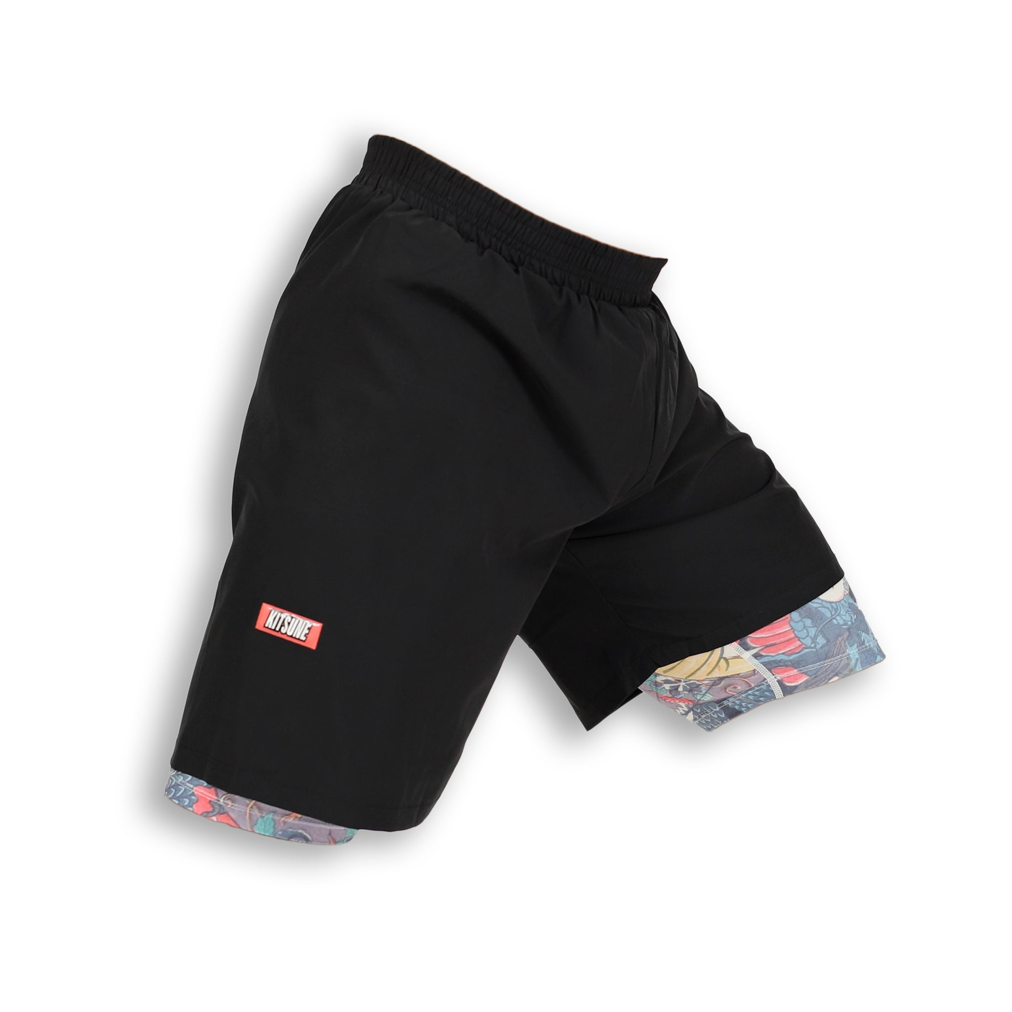 """Heroes"" Compression Hybrid Shorts"