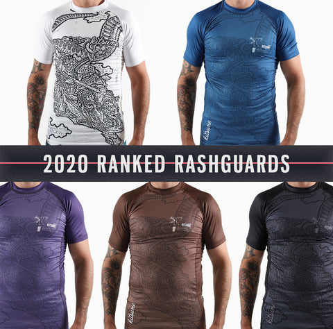 IBJJF Ranked Rashguards - Men's