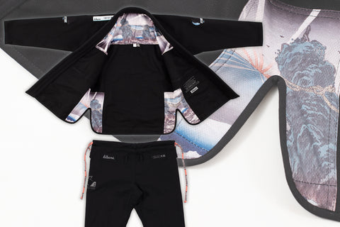 """Dawn"" Black BJJ Gi - Men's"