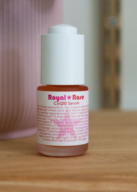 Living Libations Royal Rose CoQ10 Serum - Tyger Tyger