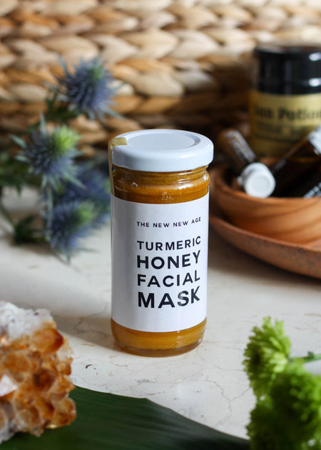 the New New Age Turmeric Honey Facial Mask - Tyger Tyger