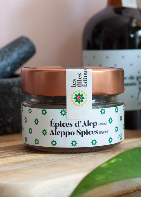 Les Filles Fattoush Aleppo Spices - Tyger-Tyger.ca
