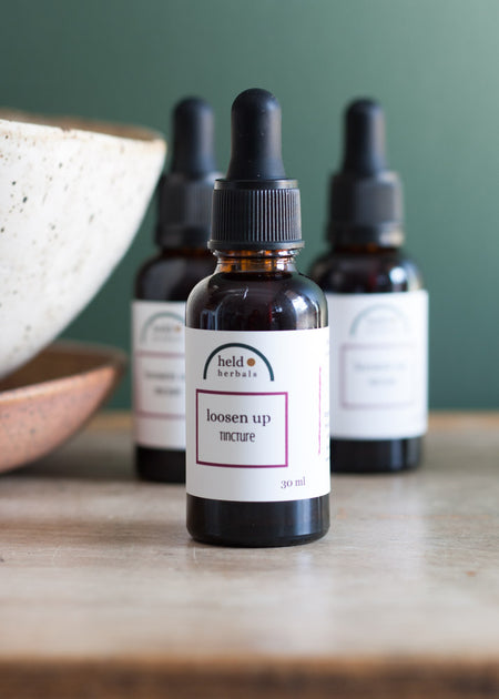 Held Herbals Loosen Up Tincture | for Menstrual Pain - Tyger-Tyger.ca