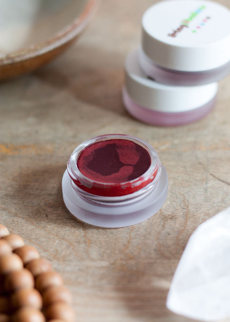 Living Libations Chocolate Ruby Blushing Balm - Tyger-Tyger.ca