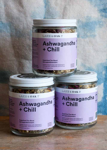 Lake & Oak Ashwagandha + Chill Tea - Tyger Tyger