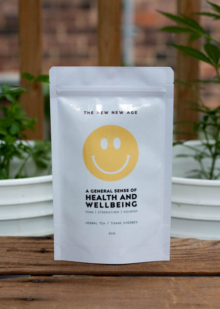the New New Age General Sense of Health & Wellbeing Tea - Tyger Tyger