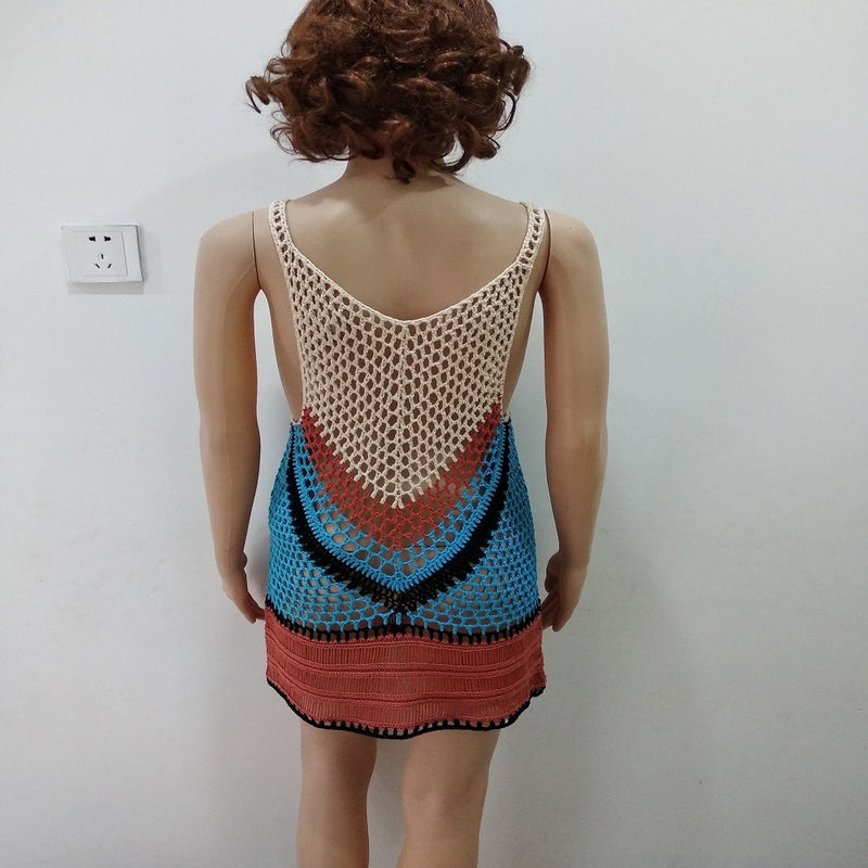 'Phuket' Crochet Cover Up Dress
