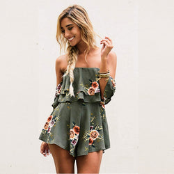 Marlin Off The Shoulder Playsuit