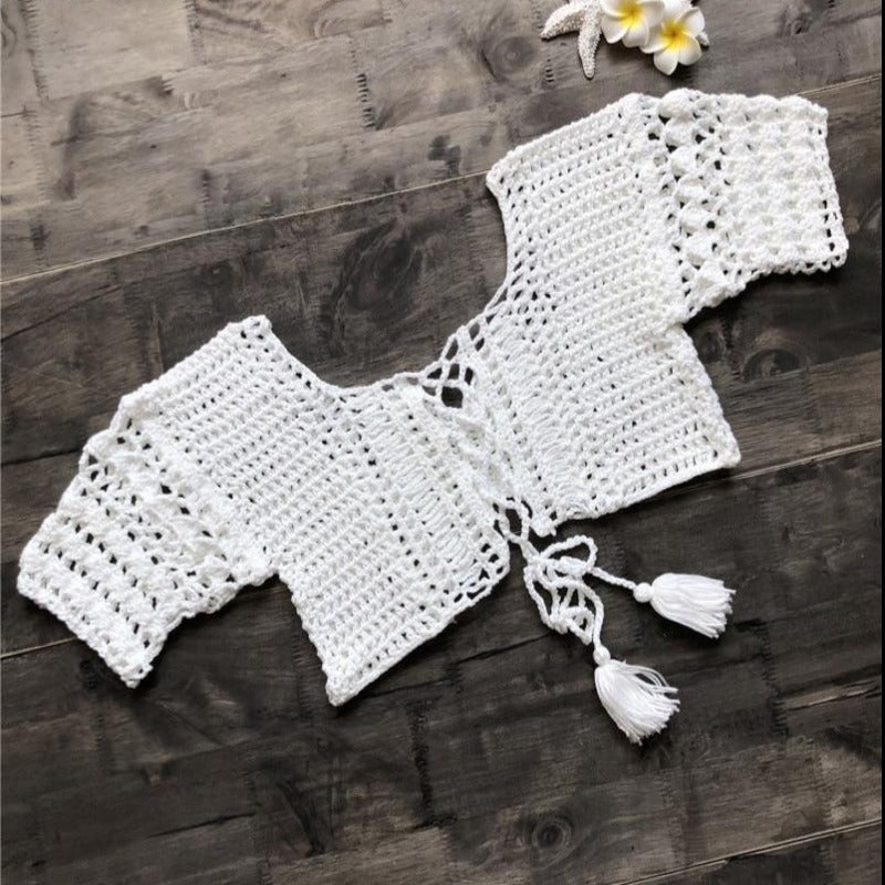 Mia Handmade Crochet Women Knit Top