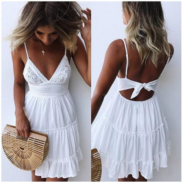 Romilda Backless Summer Dress