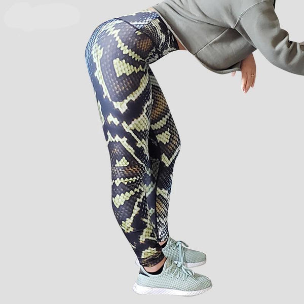 Anaconda Print Leggings