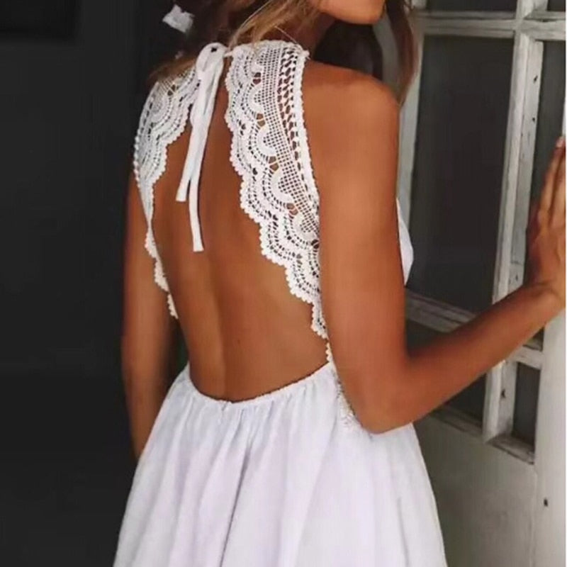 Calypso Backless Dress