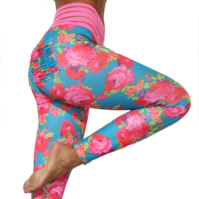 Floral Pocket Leggings