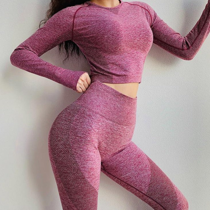 Cropped Fitness Set