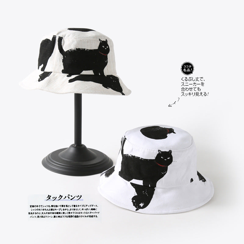 Black Cat Bucket Hat