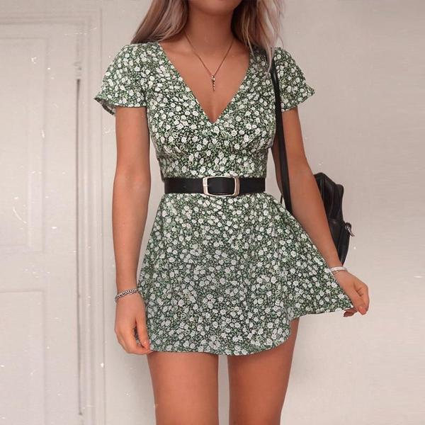 Mini Floral Summer Dresses